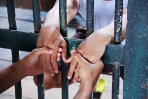 holding hands prison copy