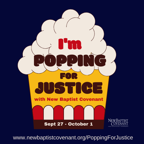 THANK YOU for #PoppingForJustice with us!